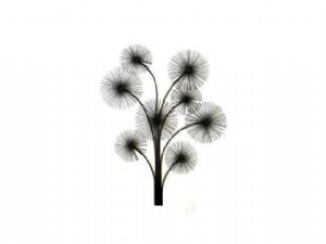 Contemporary Metal Wall Art-Sculpture Firework